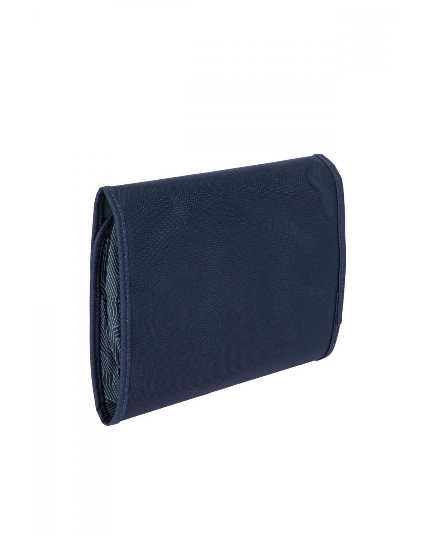 0607 Bric's Itaca Kozmetik Çantası 26x19x6 cm Lacivert / Ocean Blue