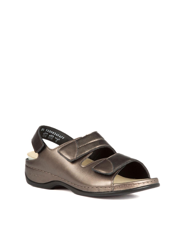 Berkemann Kadın Sandalet 1020 Antik Gold Led./Strc. - 634