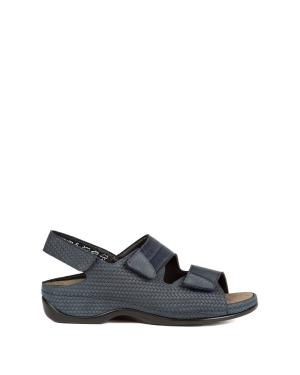Berkemann Kadın Sandalet 1020 Blau Pragenubuk - 336