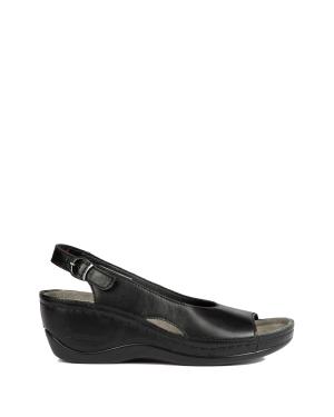 1763 Berkemann Kadın Sandalet 3.0-8.5 Schwarz Softleder - 903