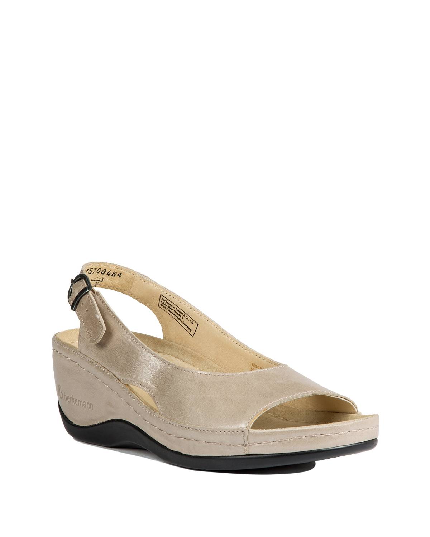 1763 Berkemann Kadın Sandalet 3.0-8.5 Beige Perlato - 757