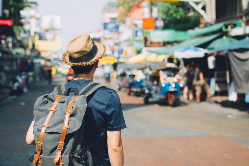seyahat sırt çantası