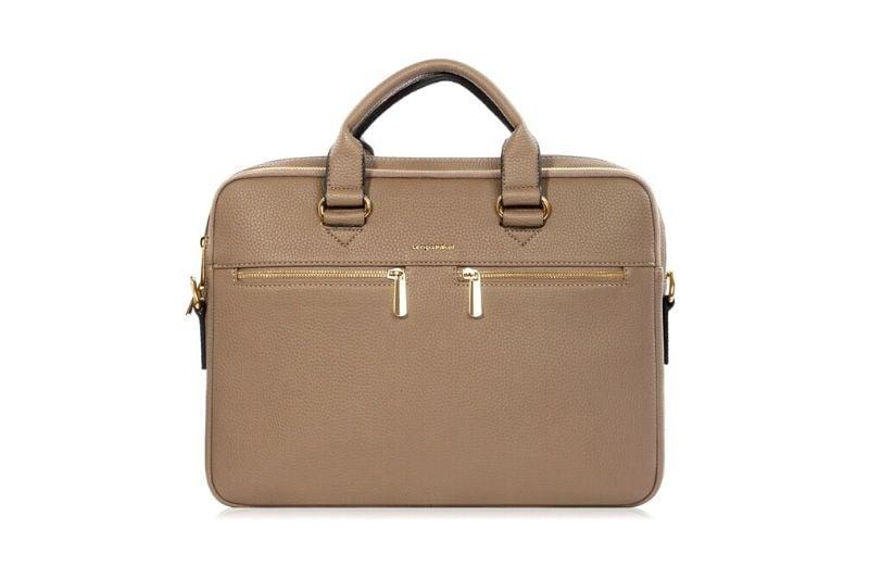mini ön cep detaylı laptop evrak çantası
