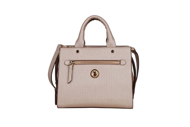 çapraz askılı açık altın kadın çantası
