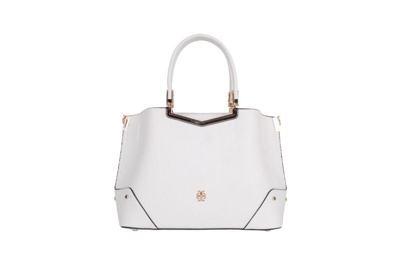 beyaz kadın el çantası