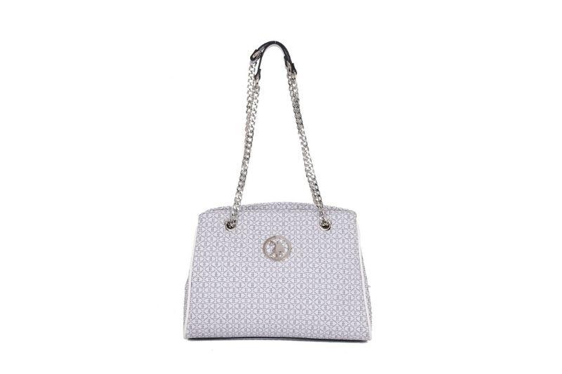 gri beyaz kadın çantası