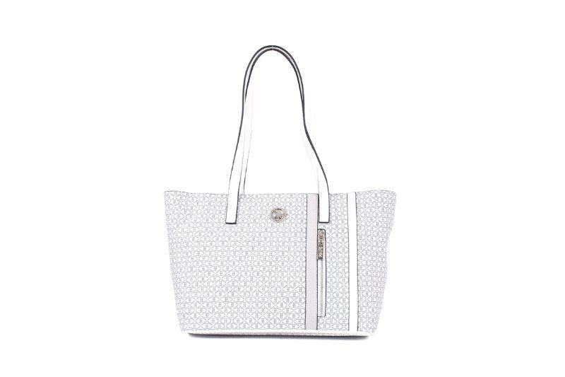 trok şerit kadın beyaz kol çantası