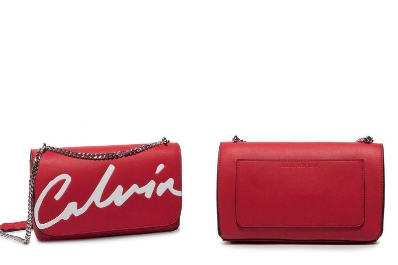 Ckj Sculpted Flap Ew Xbody Çapraz Askılı Kadın Çantası RACING RED - Calvin Klein