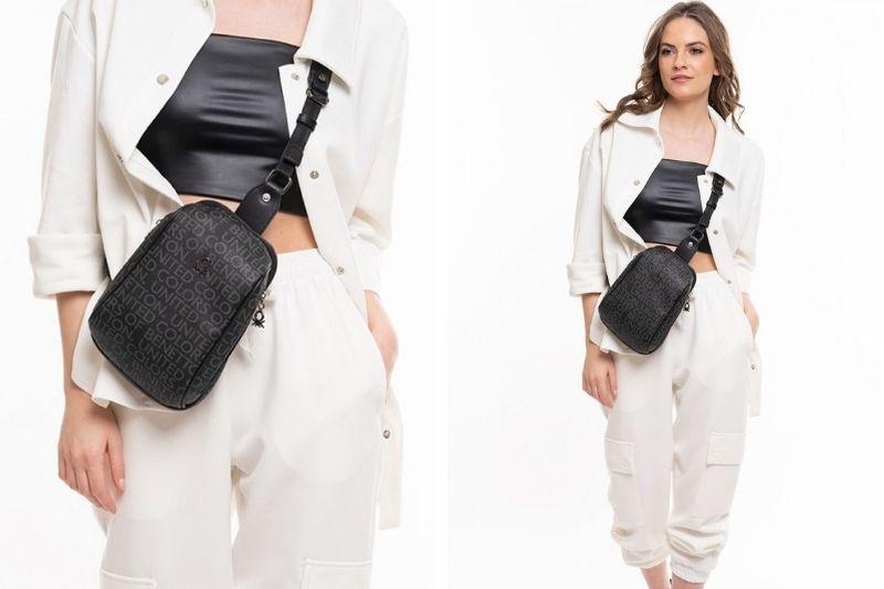 Kadın Body Bag Siyah - United Colors of Benetton