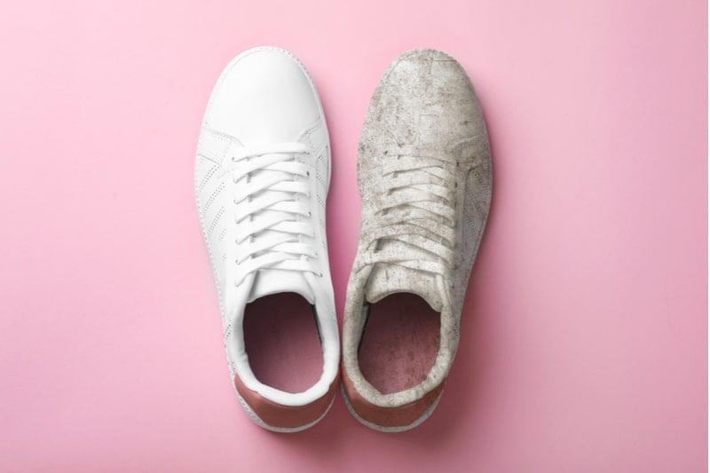 beyaz spor ayakkabısı nasıl temizlenmeli