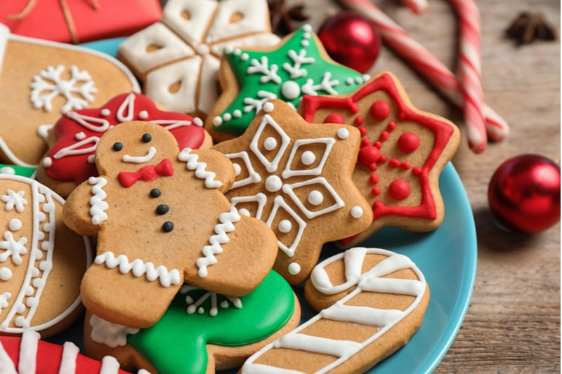 yılbaşı kurabiye süslemeleri