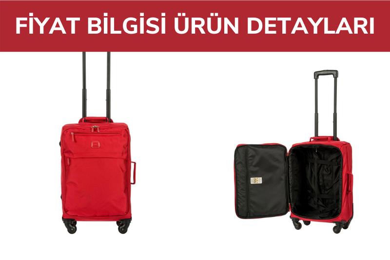 8117 Bric's Siena Kabin Boy Valiz 36x55x23 cm Kırmızı / Red