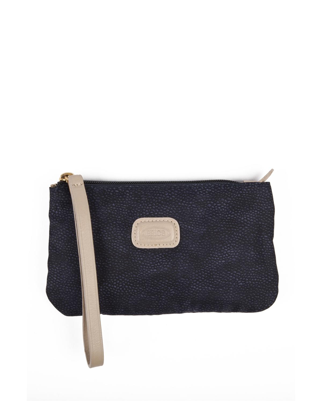 3724 Bric's Life Portofino Kozmetik Çantası 20x11 cm Mavi / Blue