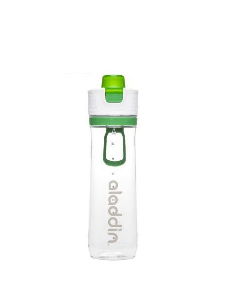 Aladdin Active Hydration Tracker-0.60 Litre Paslanmaz Çelik Su Şişesi 10-02671 Green