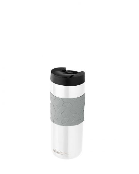 Aladdin Easy-Grip Kilitli Kapaklı-0.47 Litre Paslanmaz Çelik, Termos 10-02679 White