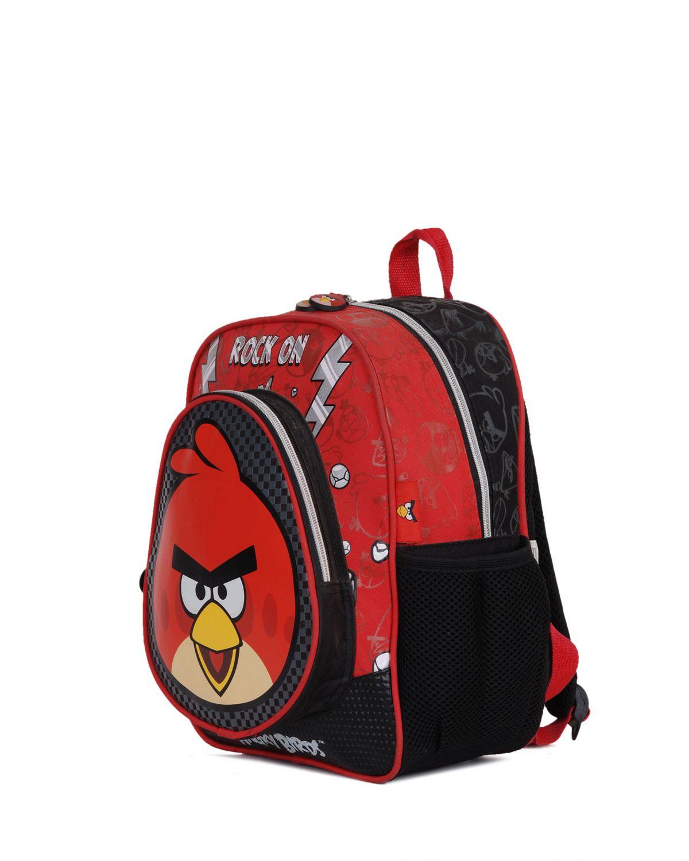 Angry Birds Rock On Anaokulu Çantası 86265 Siyah