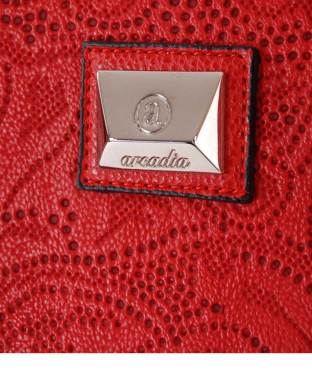 Arcadia Trok Yüzey Kadın Kadın El Çantası Kırmızı