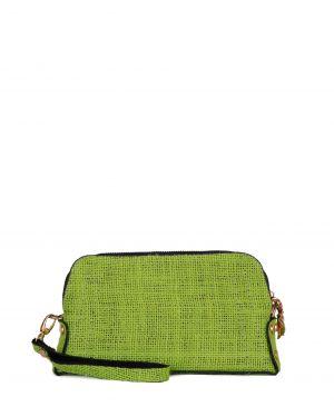 Axpe Zincirli Kadın El Portföy Çantası Fıstık Yeşili