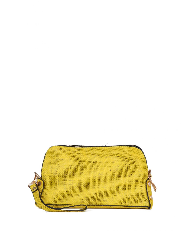 Axpe Zincirli Kadın El Portföy Çantası Sarı