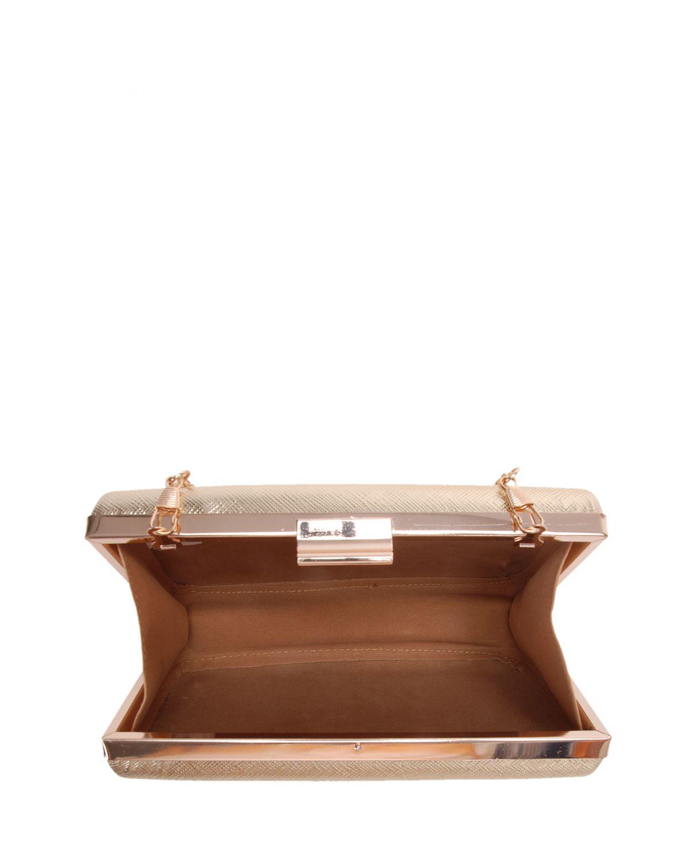 Axpe Prada Abiye Çantası 275 PRD Altın