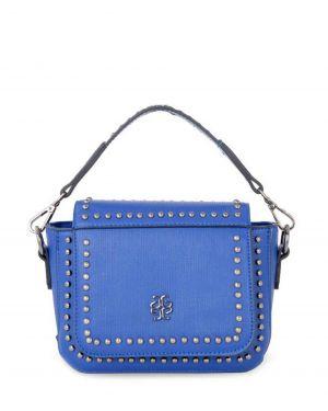 Axpe Zımba Detaylı Çapraz Kadın Çantası 8K320-09 Saks Mavi
