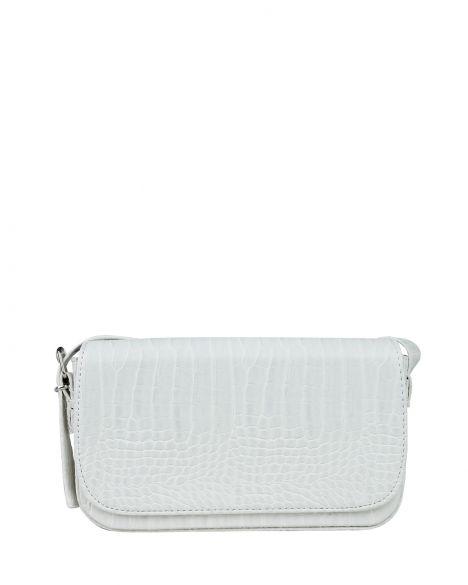 Axpe Kroko Kadın Omuz Çantası EY-0001 Beyaz