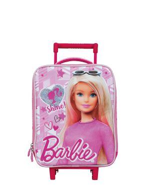 Barbie Box Shine Tekerlekli Anaokulu Çantası 5043
