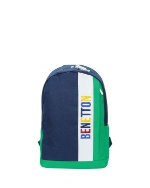 Benetton Dikey Ön Cepli Sırt Çantası 70069