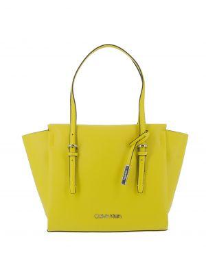 Calvin Klein Avant Med Shopper Kadın Kol Çantası K60K605070 Lime