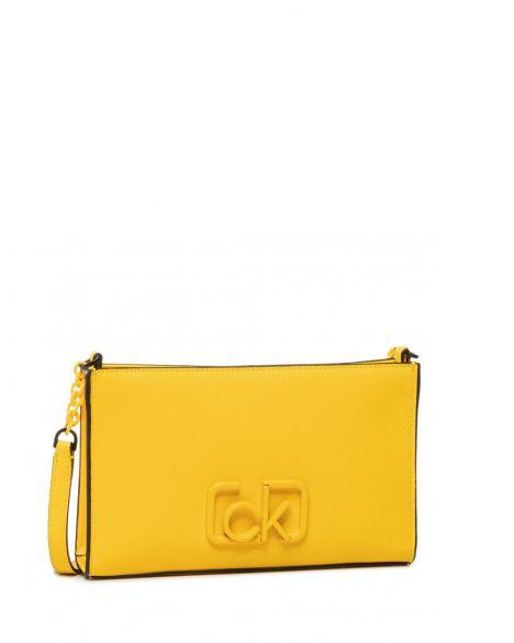 Calvin Klein Ck Signature Ew Çapraz Askılı Kadın Çantası K60K606504 SCUBA YELLOW
