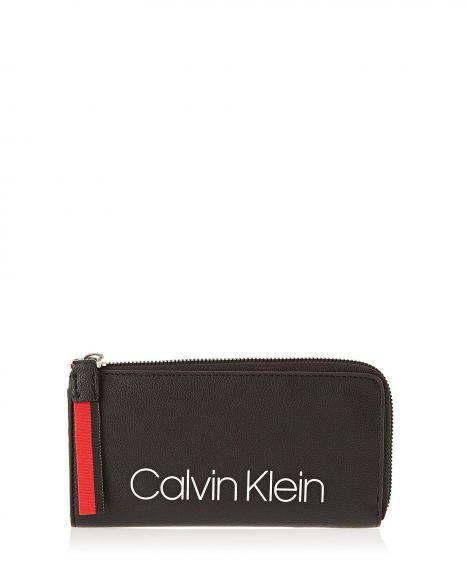 Calvin Klein Collegic Large Kadın Cüzdanı K60K604502 Black