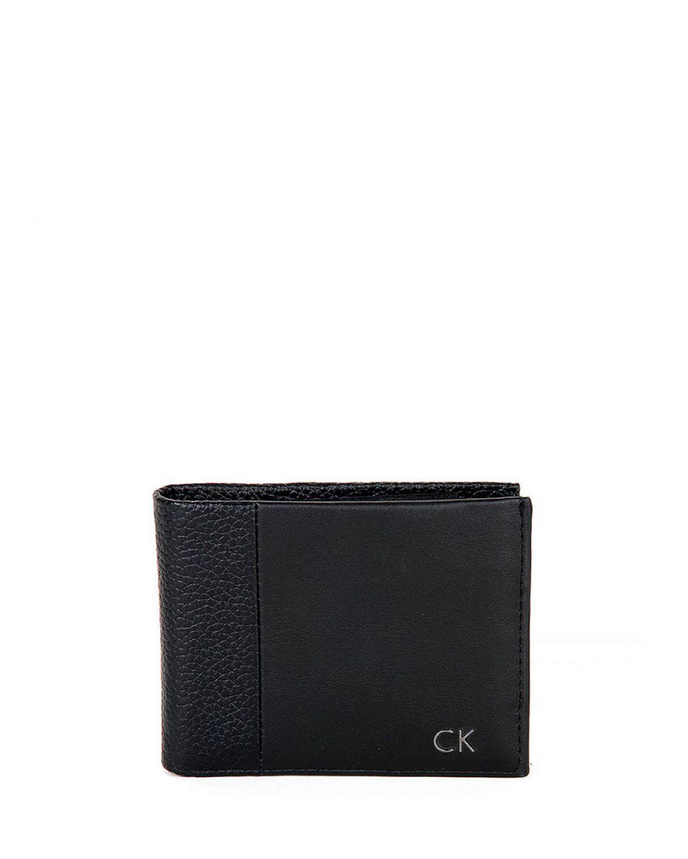 Calvin Klein Grid Billfold Erkek Cüzdanı K50K503561 Siyah