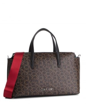 Monogram Duffle El Çantası  Ck Mono Brown