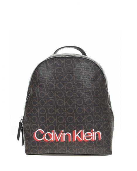 Calvin Klein Monogram Sml Kadın Sırt Çantası K60K605626 Brown Mono