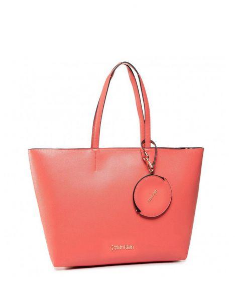 Calvin Klein Must Shopper Md Cav Kadın Kol Çantası K60K606649 Coral
