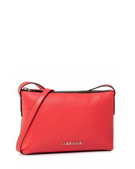 Calvin Klein Neat Crossbody Çapraz Askılı Kadın Çantası K60K606486 Coral