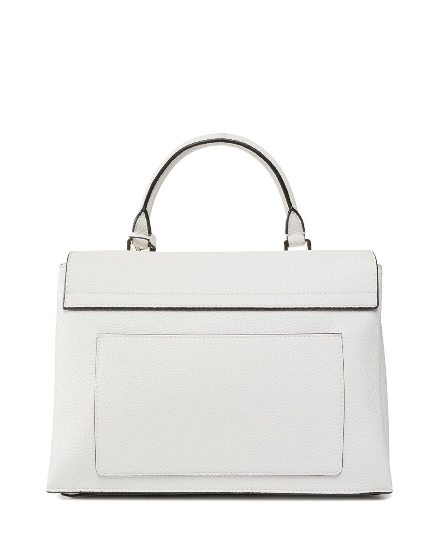 Calvin Klein Sided Top Handle Kadın El Çantası K60K606267 White