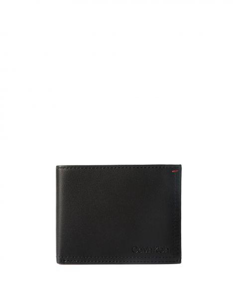 Calvin Klein Smooth Essential Erkek Cüzdanı K50K504268 Black
