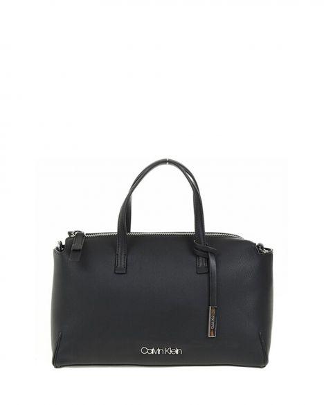 Calvin Klein Stitch Duffle Kadın El Çantası K60K604879 Black