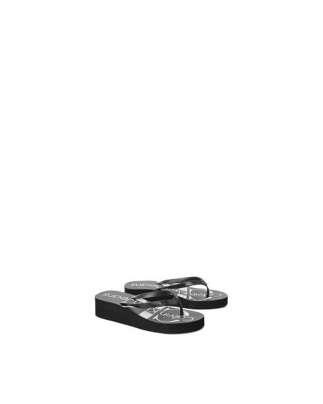 Calvin Klein Tesse Jelly Kadın Terlik 9734 Black