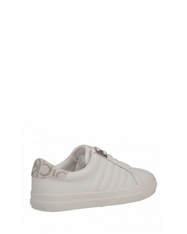 Calvin Klein Vance Tumblend Monogram Kadın Ayakkabı E4455 White