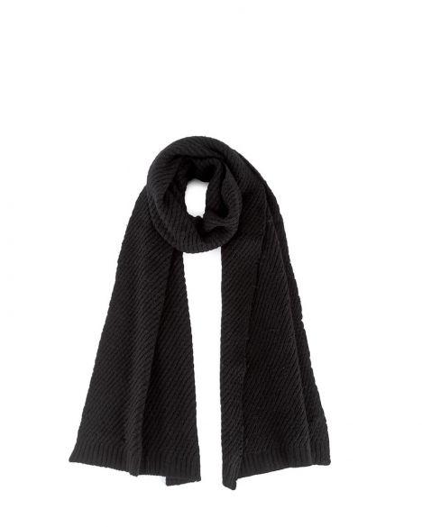Calvin Klein Ck Twist Şal K60K603742 Black