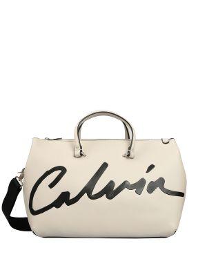 Calvin Klein Ckj Sculpted Satchel Kadın El Çantası K60K606575 Stone