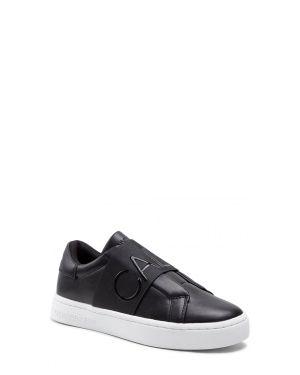 Calvin Klein Cupsole Slipon Elastic Lth Kadın Sneakers YW0YW00160