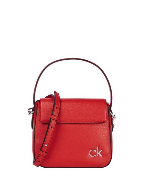 Calvin Klein Hobo W/flap Sm Kadın El Çantası K60K608074 Vibrant Coral