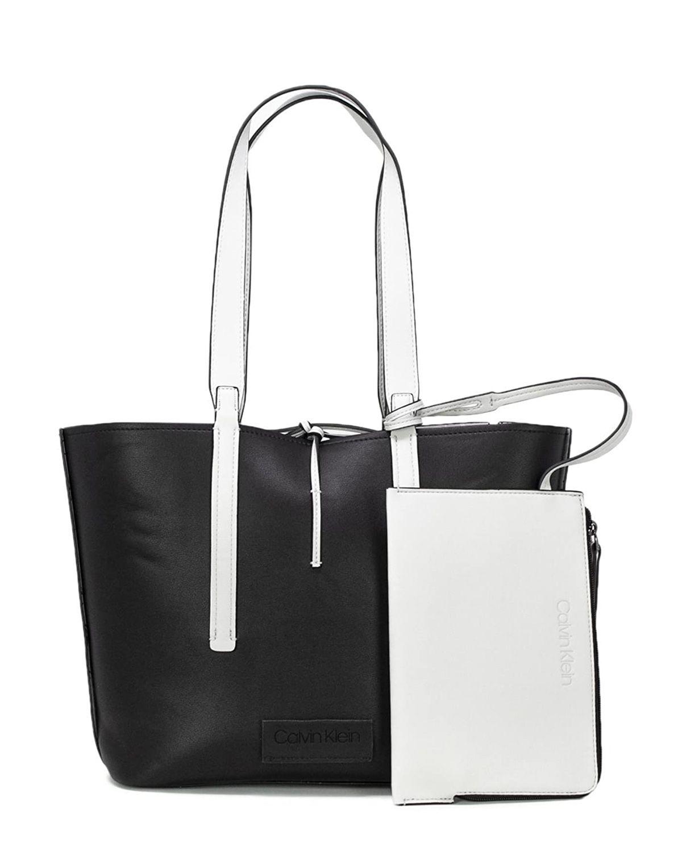 Calvin Klein Inside Out Med Kadın Omuz Çantası K60K604367 Black / Black