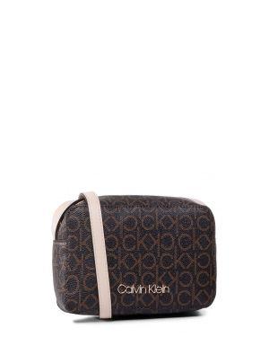 Calvin Klein Mono Camerabag Çapraz Askılı Kadın Çantası K60K606566 Brown Mono