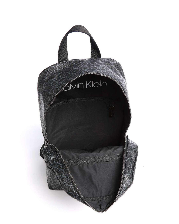 Calvin Klein Round Bp W/pckt Erkek Sırt Çantası K50K505925 Black Mono