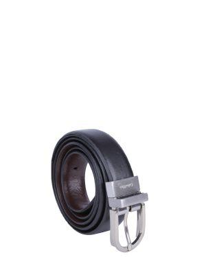 Round Reversable Basic 90 Cm Kadın Kemer  Black