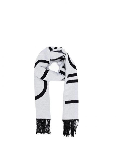 Calvin Klein Scarf 65X195 Kadın Şal K60K607322 White